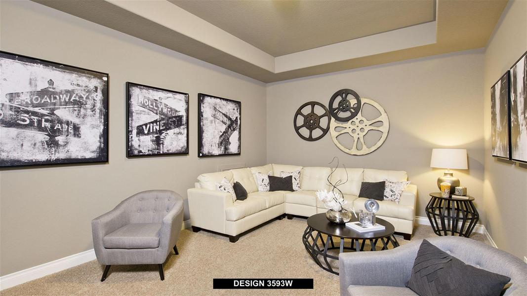 Design 3593W Living Space