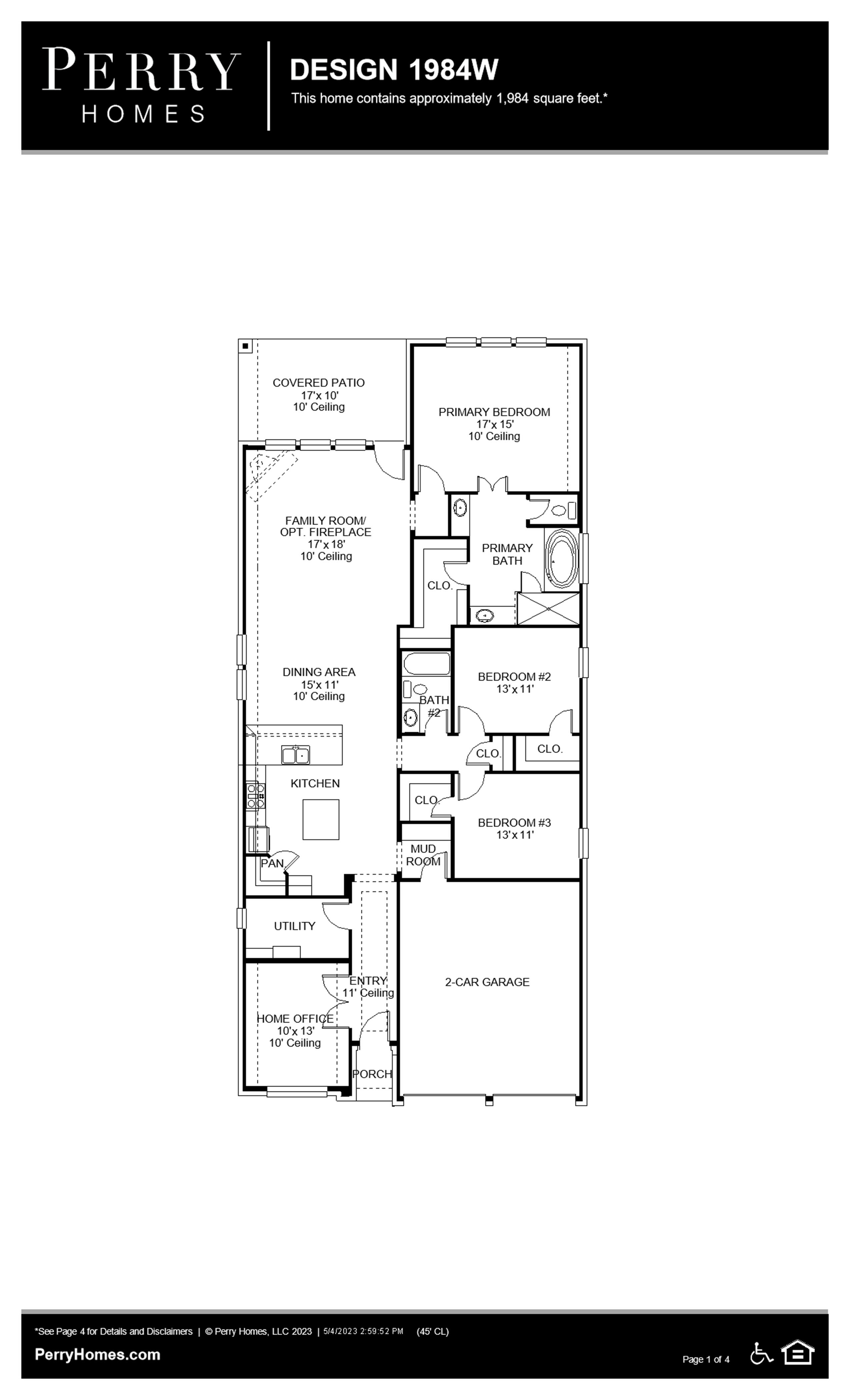 North Grove, TX floorplan