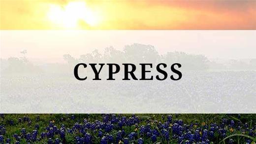 Cypress region