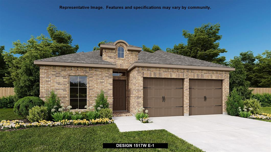 New Home Design, 1,517 sq. ft., 3 bed / 2.0 bath, 2-car garage