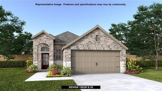 New Home Design, 1,593 sq. ft., 3 bed / 2.0 bath, 2-car garage