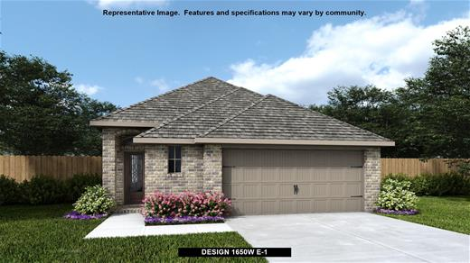 New Home Design, 1,650 sq. ft., 3 bed / 2.0 bath, 2-car garage