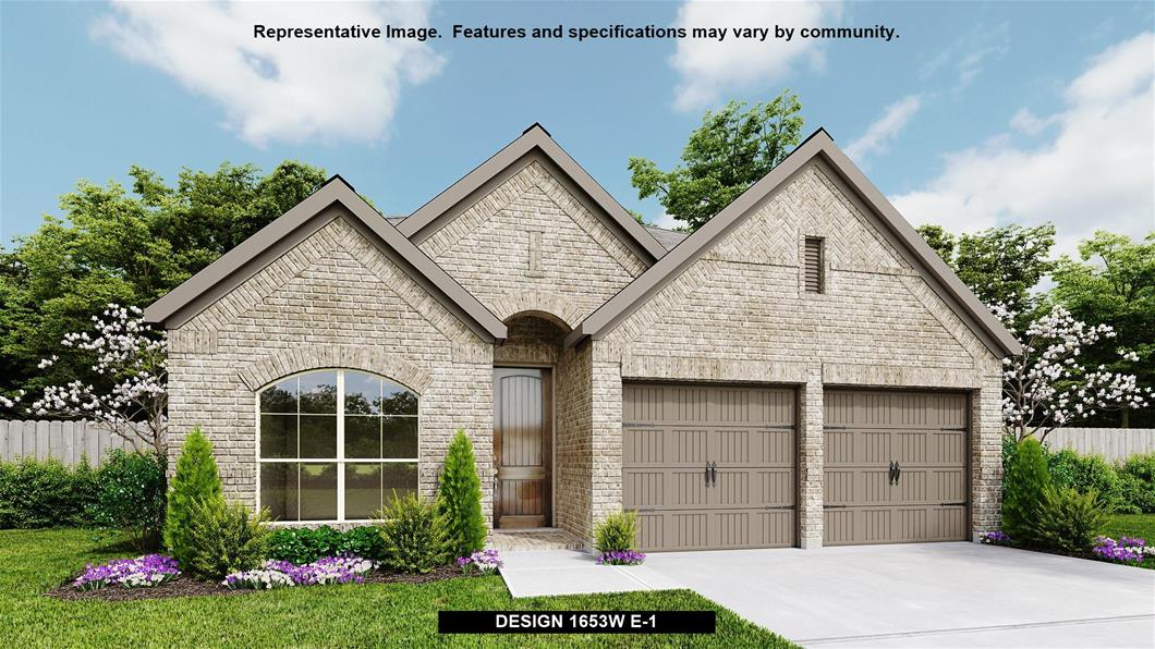 New Home Design, 1,653 sq. ft., 3 bed / 2.0 bath, 2-car garage