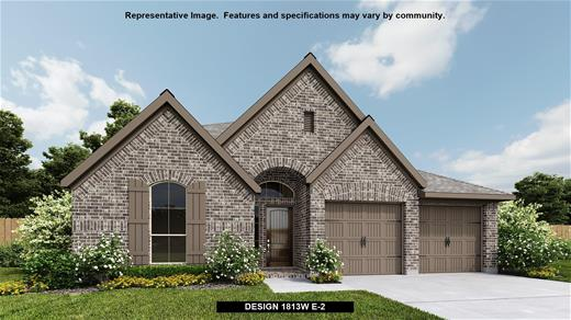 New Home Design, 1,813 sq. ft., 3 bed / 2.0 bath, 2-car garage