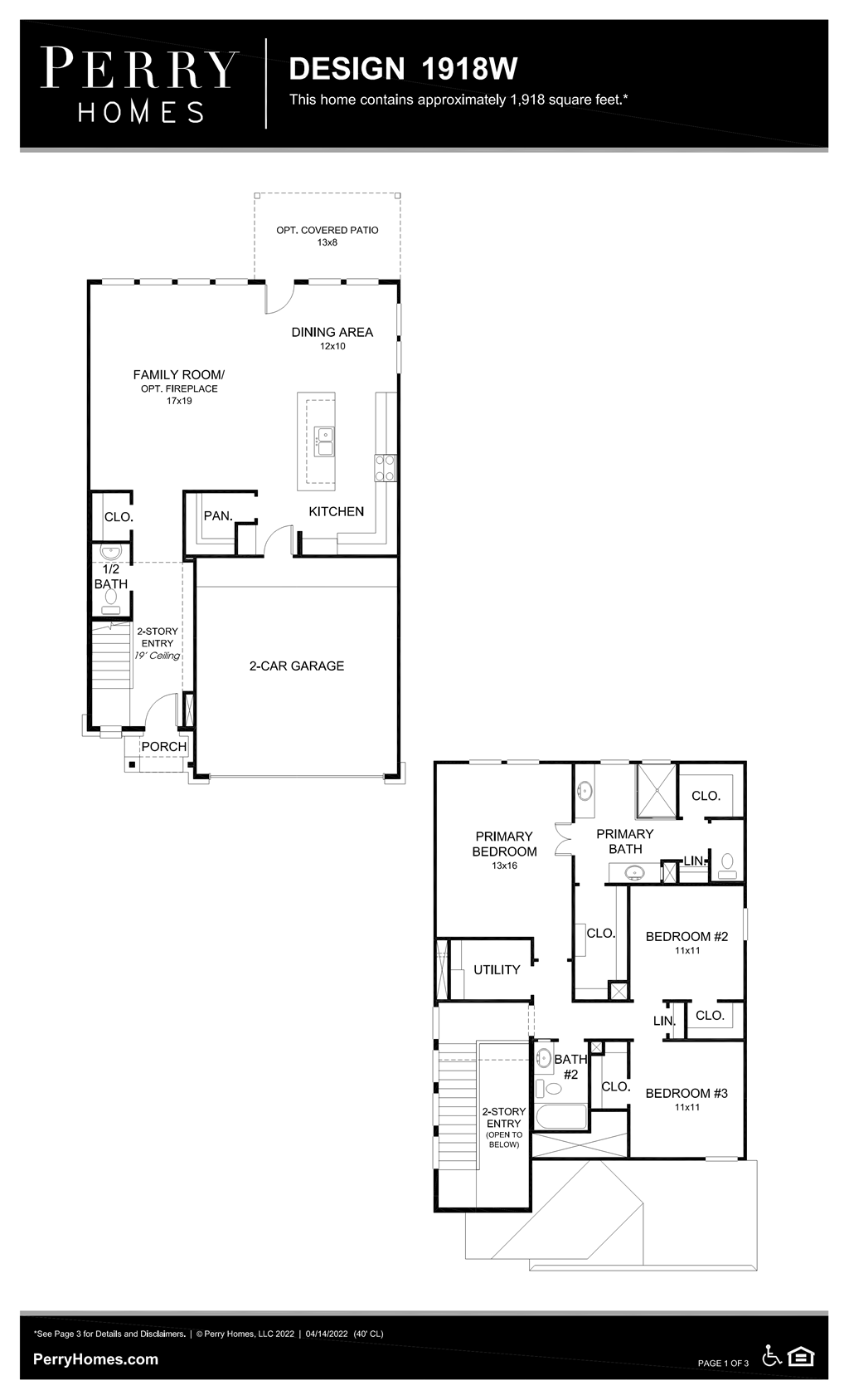 Floor Plan for 1918W