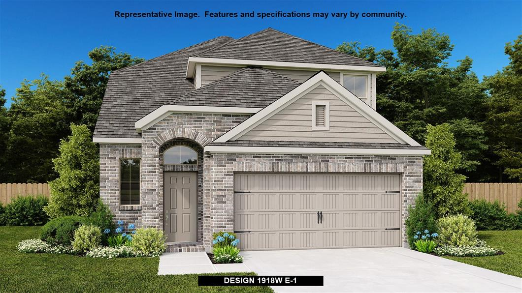 New Home Design, 1,918 sq. ft., 3 bed / 2.5 bath, 2-car garage
