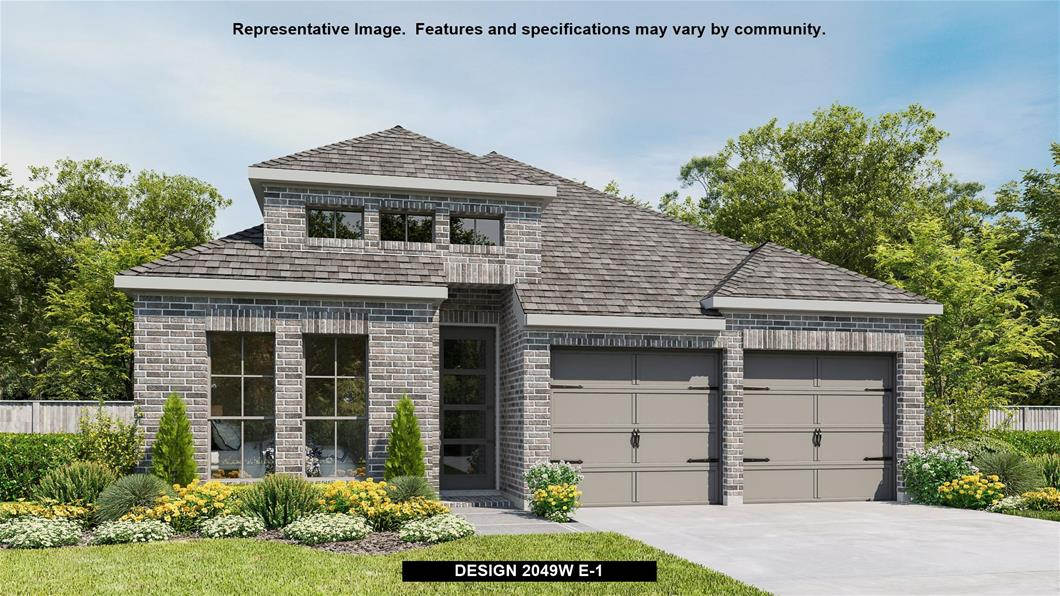 New Home Design, 2,049 sq. ft., 4 bed / 3.0 bath, 2-car garage