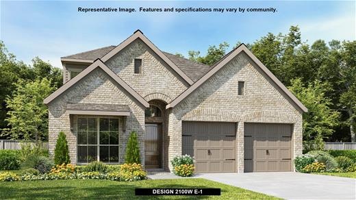 New Home Design, 2,100 sq. ft., 3 bed / 3.0 bath, 2-car garage