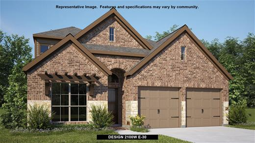 New Home Design, 2,351 sq. ft., 4 bed / 3.0 bath, 2-car garage