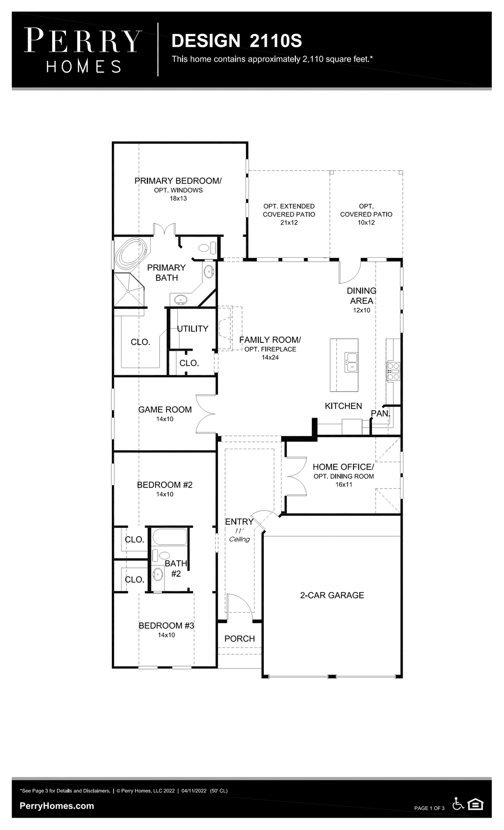 Floor Plan for 2110S
