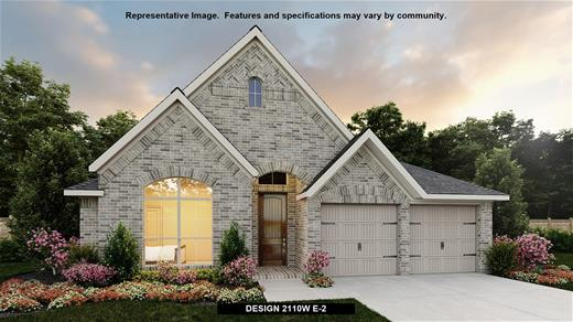 New Home Design, 2,110 sq. ft., 3 bed / 2.0 bath, 2-car garage