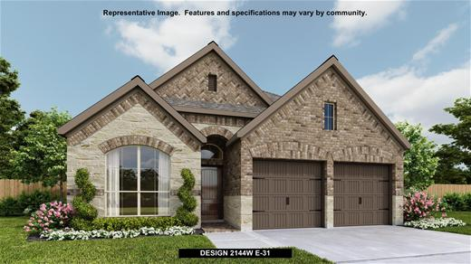 New Home Design, 2,144 sq. ft., 4 bed / 3.0 bath, 2-car garage