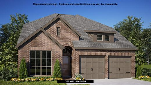 New Home Design, 2,166 sq. ft., 4 bed / 3.0 bath, 2-car garage
