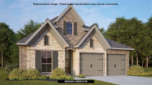 New Home Design, 2,169 sq. ft., 4 bed / 3.0 bath, 2-car garage