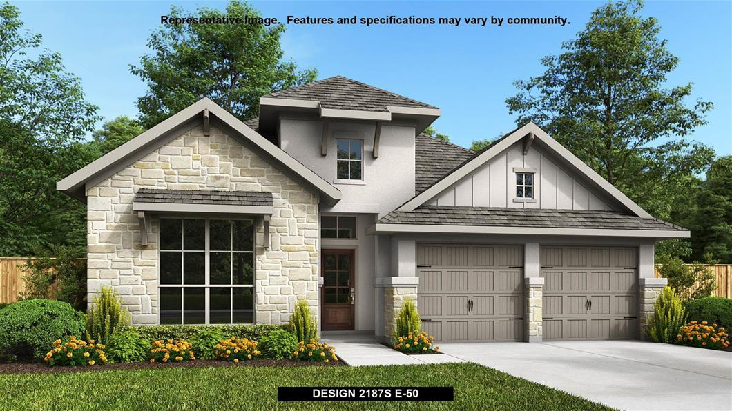 New Home Design, 2,187 sq. ft., 4 bed / 3.0 bath, 2-car garage