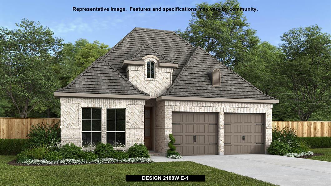 New Home Design, 2,188 sq. ft., 4 bed / 3.0 bath, 2-car garage