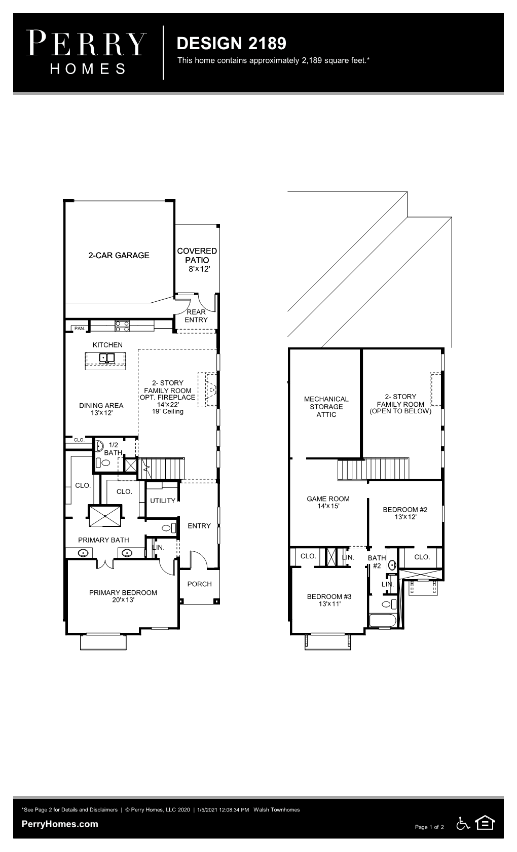Available To Build In Walsh Townhomes