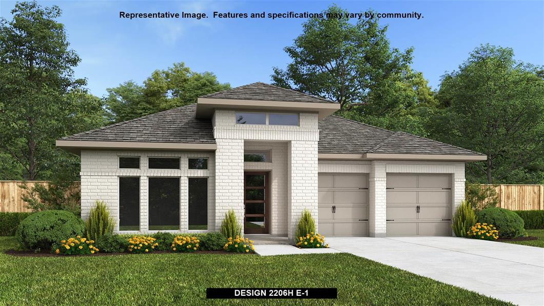 New Home Design, 2,206 sq. ft., 3 bed / 2.0 bath, 2-car garage
