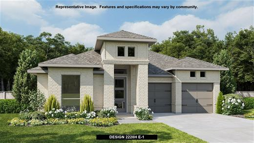New Home Design, 2,228 sq. ft., 3 bed / 2.0 bath, 3-car garage