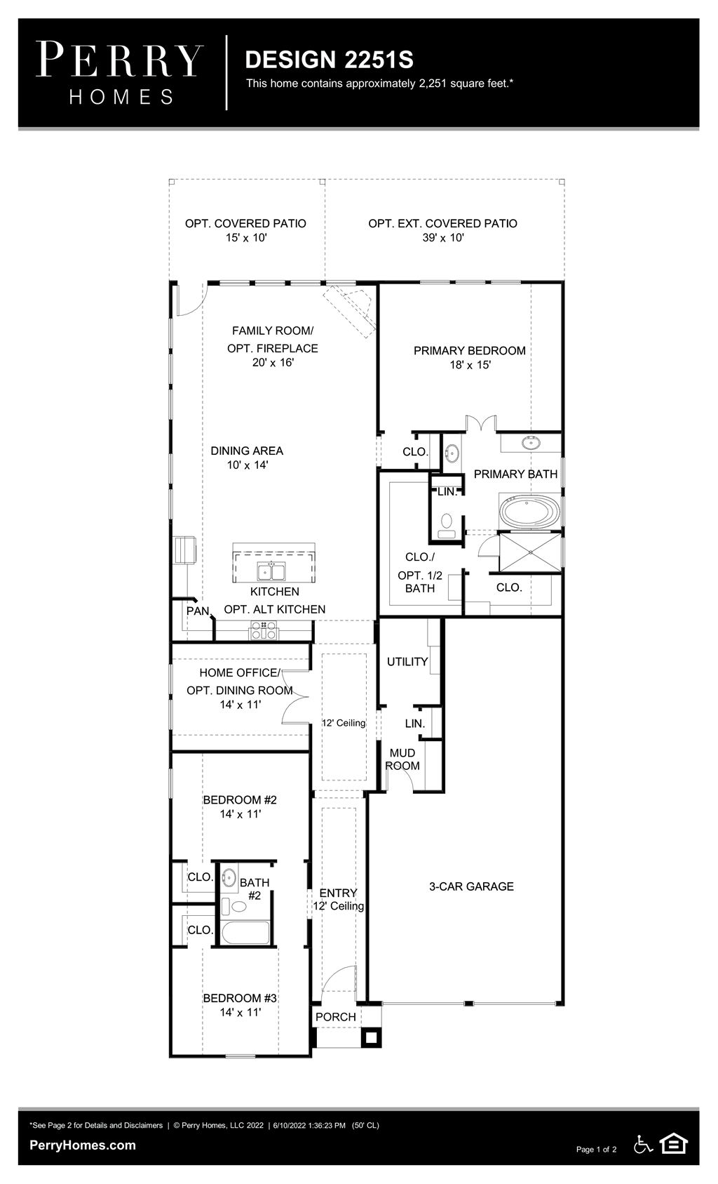 Floor Plan for 2251S