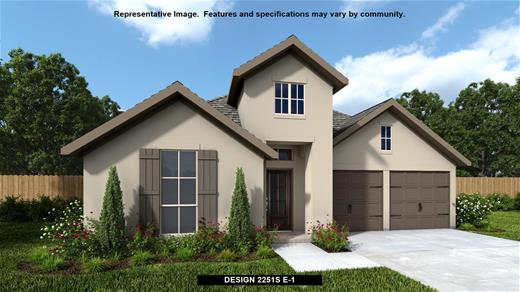New Home Design, 2,251 sq. ft., 3 bed / 2.5 bath, 3-car garage