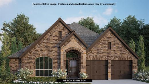 New Home Design, 2,256 sq. ft., 4 bed / 2.0 bath, 2-car garage