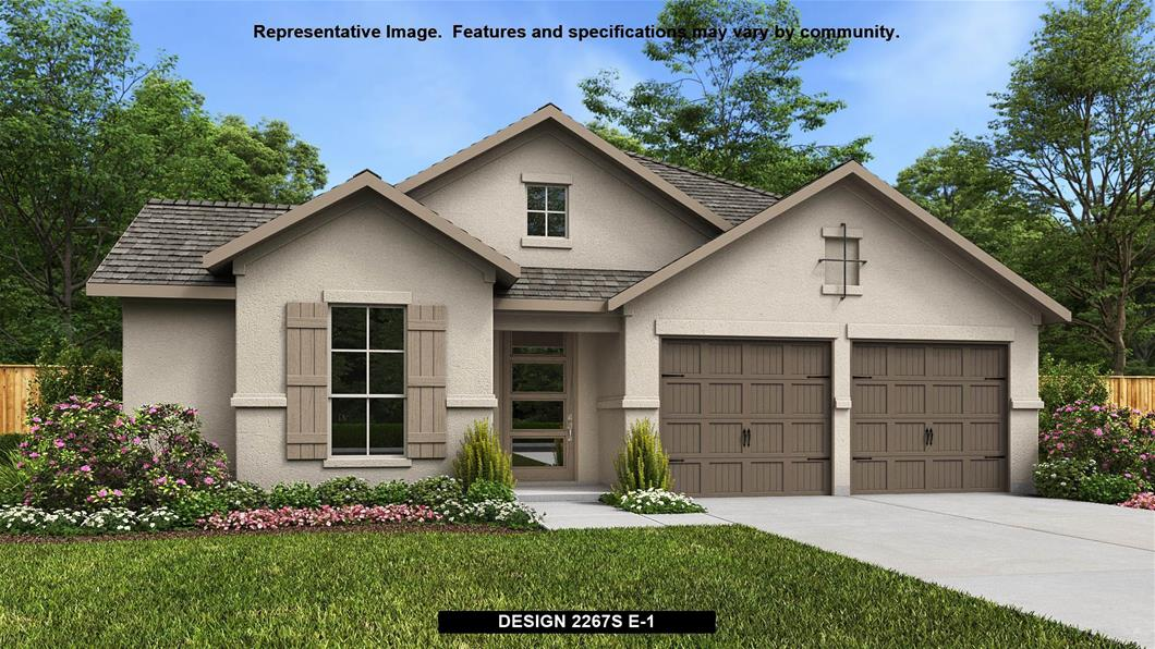 New Home Design, 2,267 sq. ft., 4 bed / 2.0 bath, 2-car garage