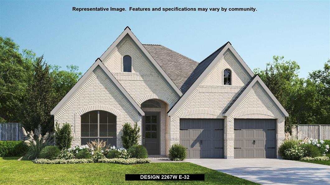 New Home Design, 2,267 sq. ft., 4 bed / 2.5 bath, 2-car garage