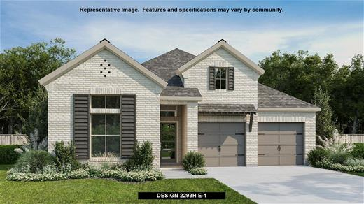 New Home Design, 2,293 sq. ft., 4 bed / 3.0 bath, 3-car garage