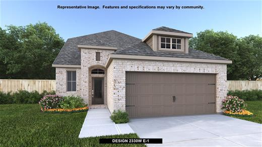 New Home Design, 2,330 sq. ft., 3 bed / 2.5 bath, 2-car garage