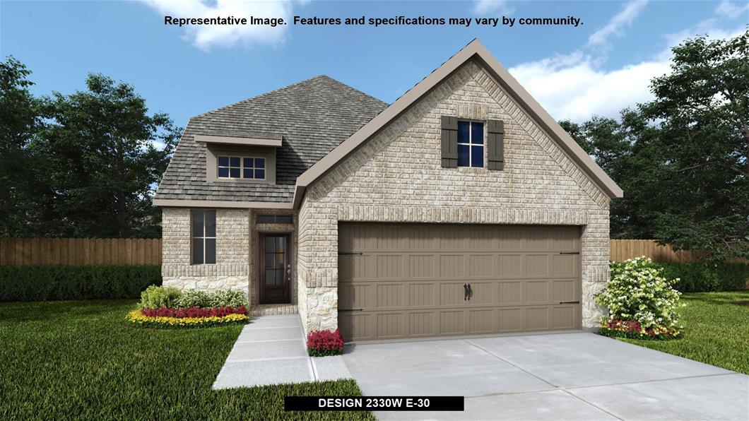 New Home Design, 2,330 sq. ft., 4 bed / 3.5 bath, 2-car garage