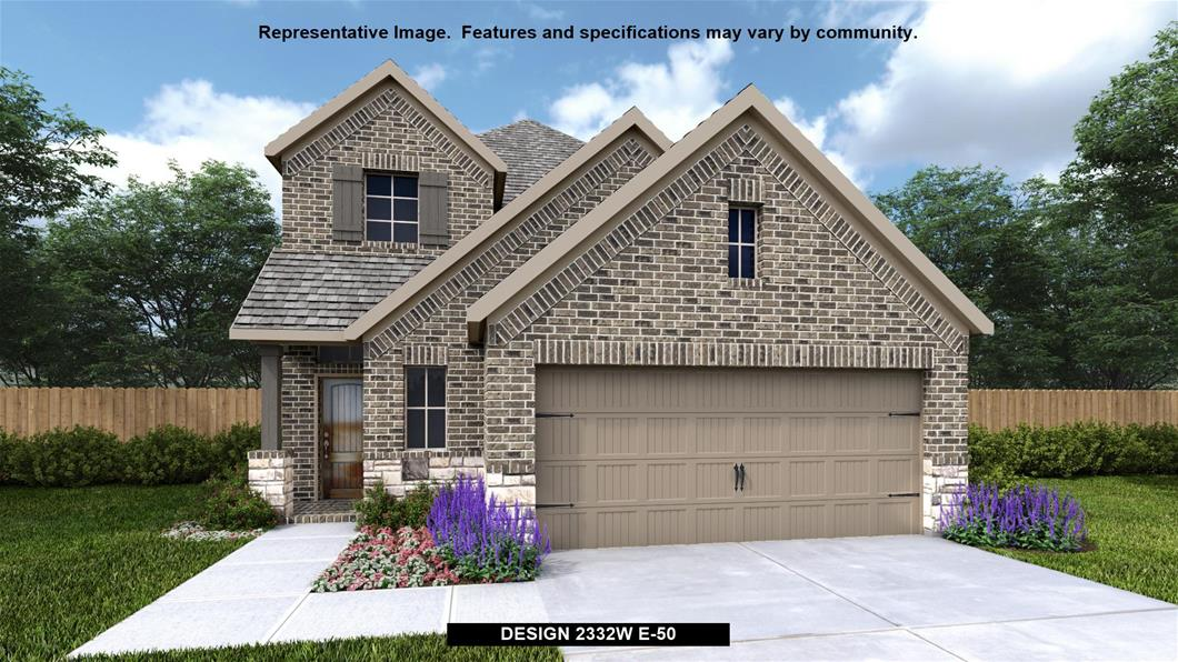 New Home Design, 2,332 sq. ft., 3 bed / 2.5 bath, 2-car garage