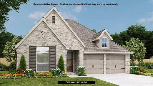 New Home Design, 2,352 sq. ft., 4 bed / 3.0 bath, 2-car garage