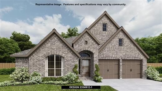 New Home Design, 2,354 sq. ft., 4 bed / 2.0 bath, 2-car garage