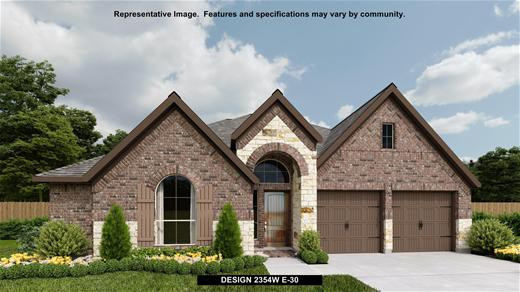 New Home Design, 2,354 sq. ft., 4 bed / 2.5 bath, 2-car garage