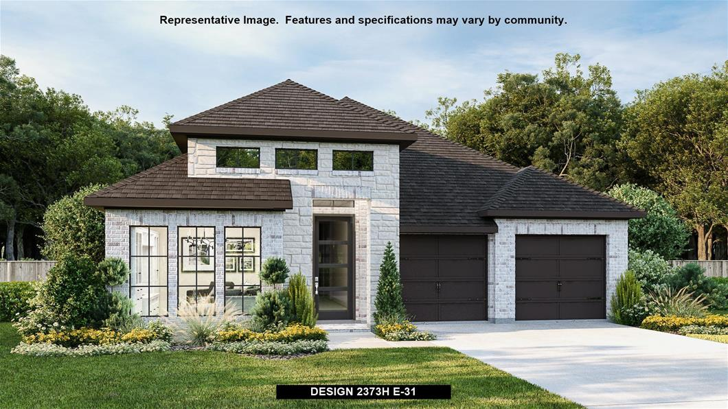New Home Design, 2,373 sq. ft., 4 bed / 3.0 bath, 2-car garage
