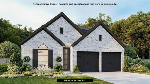 New Home Design, 2,410 sq. ft., 4 bed / 3.0 bath, 2-car garage