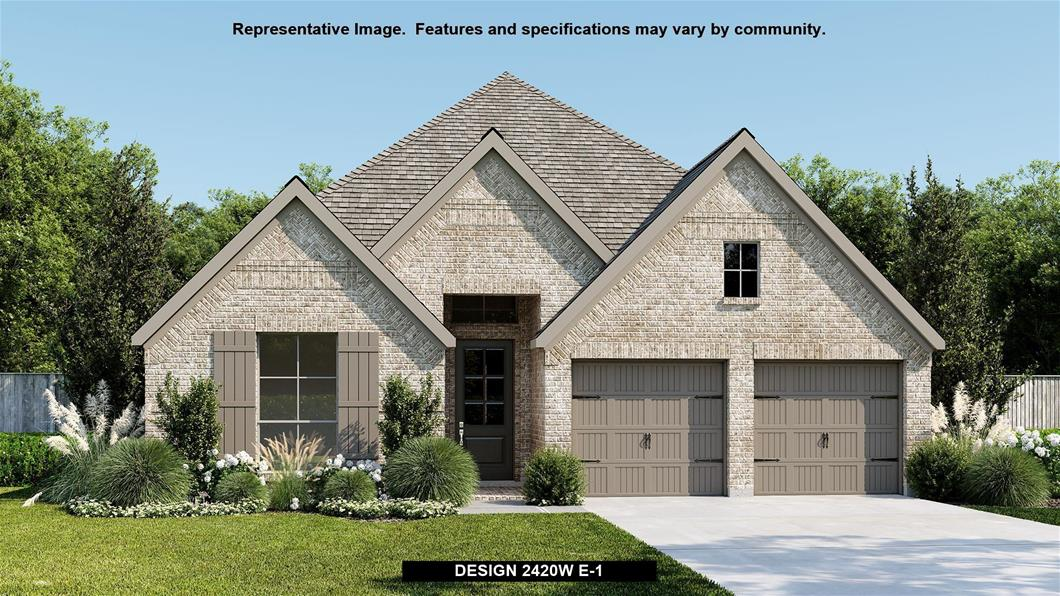 New Home Design, 2,420 sq. ft., 4 bed / 3.0 bath, 3-car garage