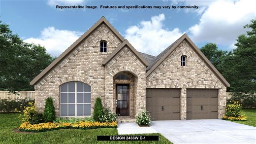 New Home Design, 2,438 sq. ft., 4 bed / 3.0 bath, 2-car garage