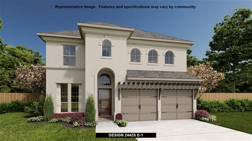 New Home Design, 2,442 sq. ft., 4 bed / 2.5 bath, 2-car garage