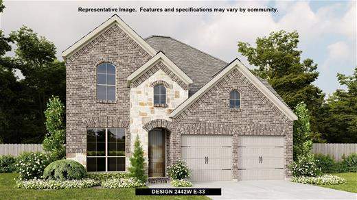 New Home Design, 2,488 sq. ft., 4 bed / 3.5 bath, 2-car garage