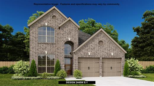 New Home Design, 2,445 sq. ft., 4 bed / 2.5 bath, 2-car garage
