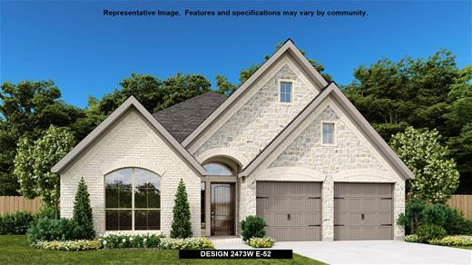 New Home Design, 2,473 sq. ft., 4 bed / 3.0 bath, 2-car garage