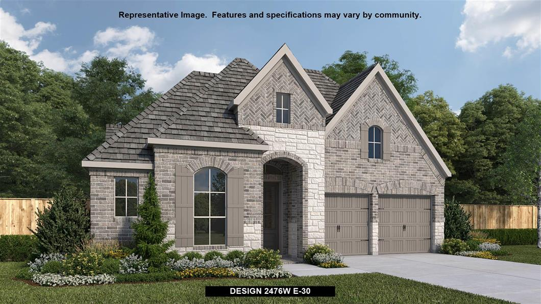New Home Design, 2,476 sq. ft., 4 bed / 3.0 bath, 3-car garage