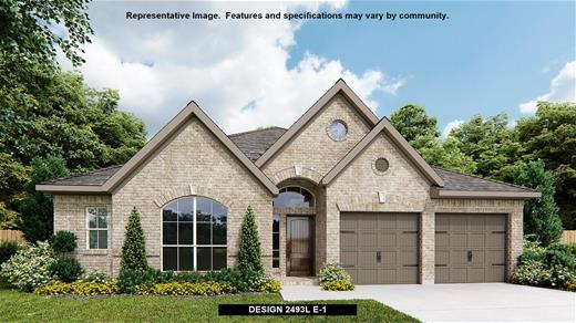 New Home Design, 2,493 sq. ft., 4 bed / 3.0 bath, 3-car garage