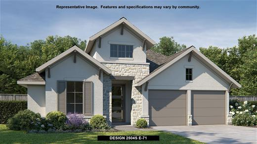 New Home Design, 2,504 sq. ft., 4 bed / 3.0 bath, 3-car garage