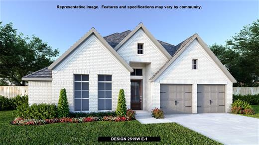 New Home Design, 2,519 sq. ft., 4 bed / 3.0 bath, 2-car garage