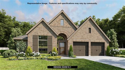 New Home Design, 2,525 sq. ft., 4 bed / 3.0 bath, 2-car garage