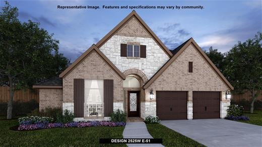 New Home Design, 2,525 sq. ft., 4 bed / 3.0 bath, 3-car garage