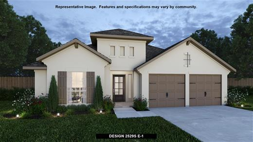 New Home Design, 2,529 sq. ft., 4 bed / 3.0 bath, 2-car garage
